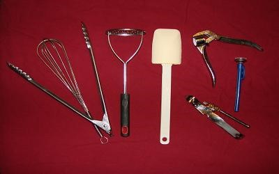 miscellaneous utensils