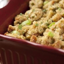 Sweet Corn Bread Stuffing