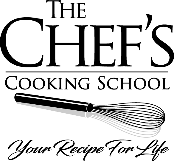 The Chef's Cooking School logo.