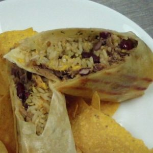 pork burrito