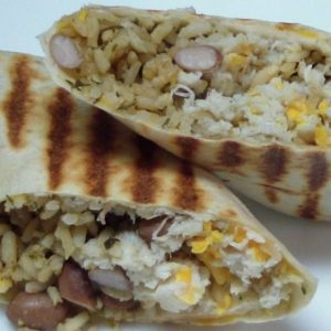 Tater Tots Breakfast Burrito with Sausage, Egg and Cheese 2