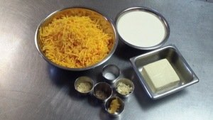 macaroni and cheese ingredients
